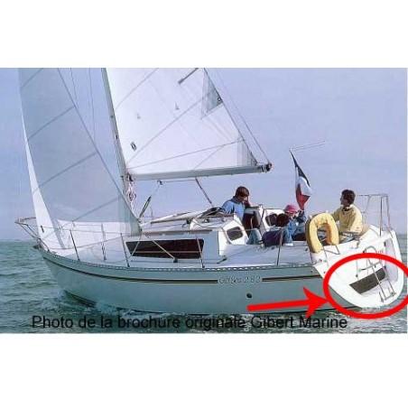 Gib Sea 282 hublot arrière
