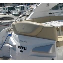 Nom de bateau en adhésif