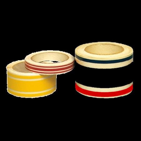 Triple bandes et filets adhésifs décoratifs, 3 couleurs au choix, longueur 20 m