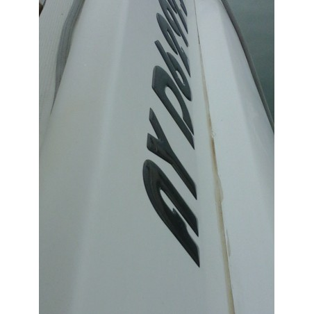 Immatriculation en relief de votre bateau