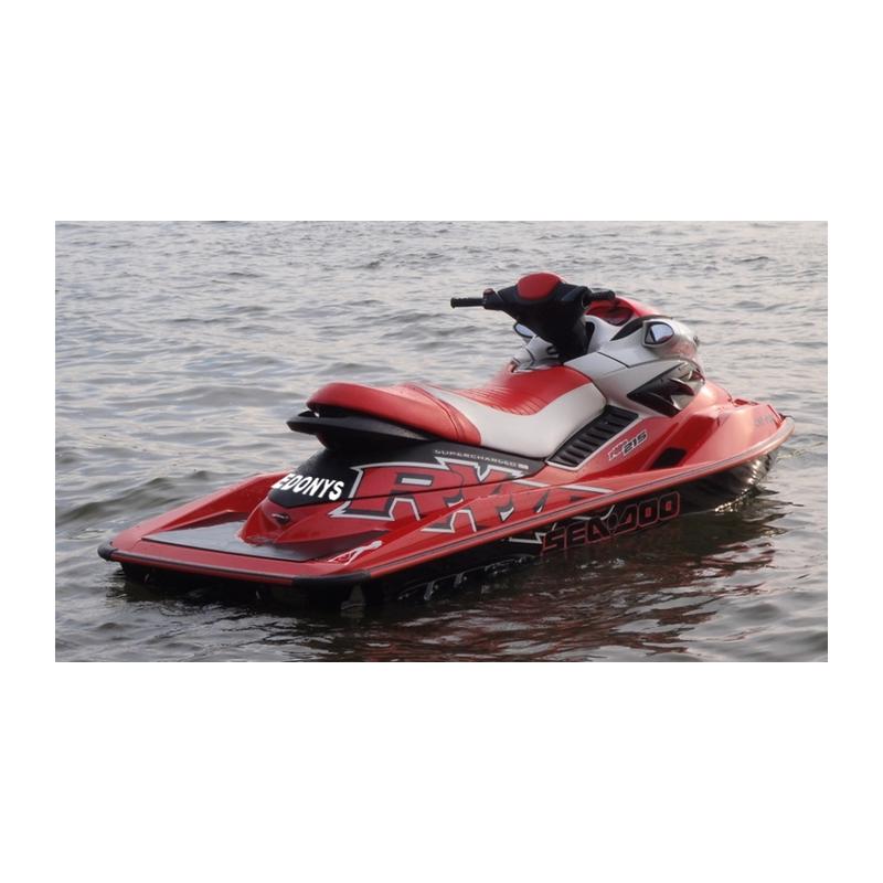 Nom de jet ski ou scooter des mers en adhésif