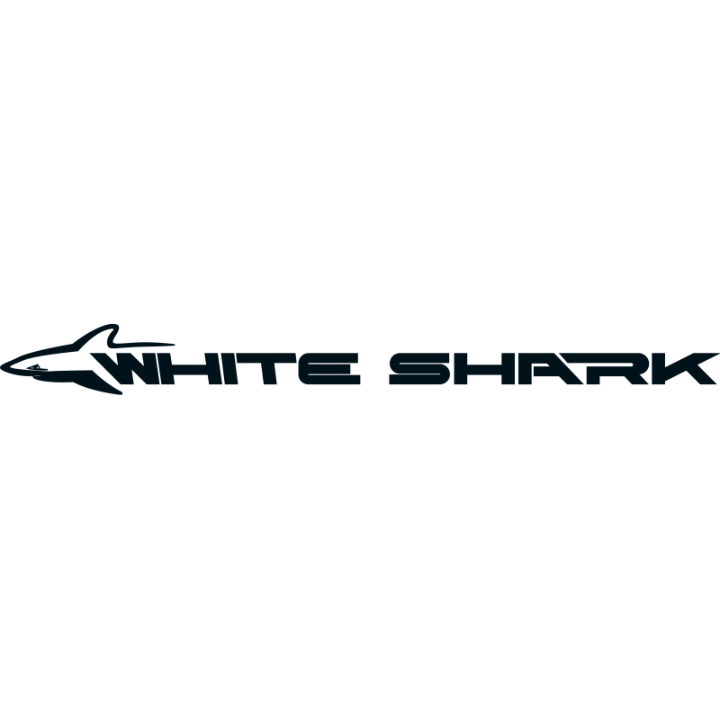 Sticker Logo White Shark
