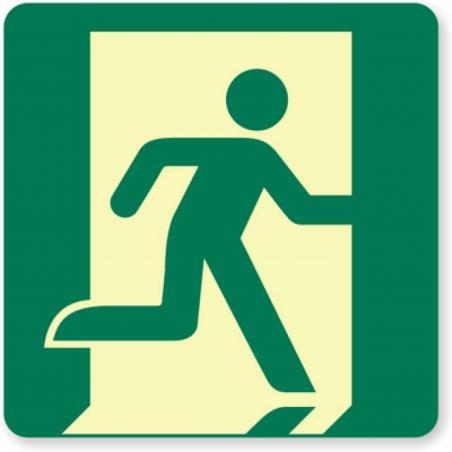 Sticker sortie de secours