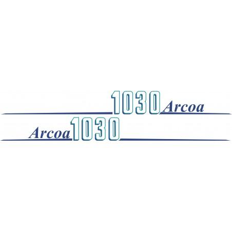 Sticker pour bateau ARCOA 1030