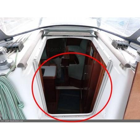 Porte de descente Oceanis 331 en plexiglass pour bateau