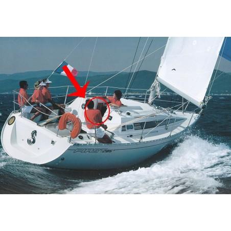 Porte de descente First 28 en plexiglass pour bateau