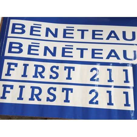 Sticker Bénéteau logo First 211