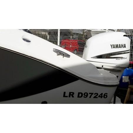 Stickers de décoration du capot moteur YAMAHA