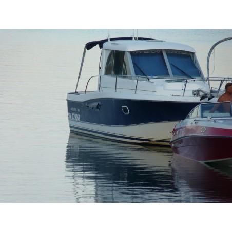 Pare-brise Antares 760 Bénéteau en plexiglass pour bateau