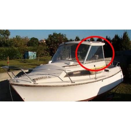 Vitre latérale Antares 600 Bénéteau en plexiglass pour bateau