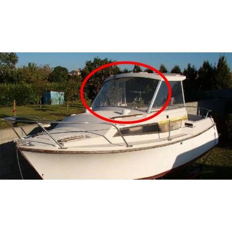 Pare-brise Antares 600 Bénéteau en plexiglass pour bateau
