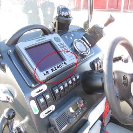 Immatriculation cockpit
