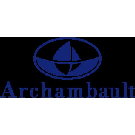 Sticker ARCHAMBAULT en adhésif haute qualité pour votre bateau
