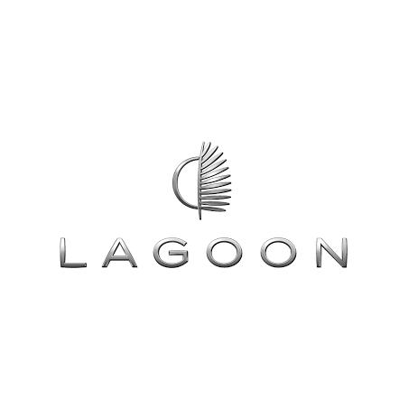 Sticker logo Lagoon Catamaran depuis 2017