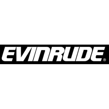 Sticker logo EVINRUDE