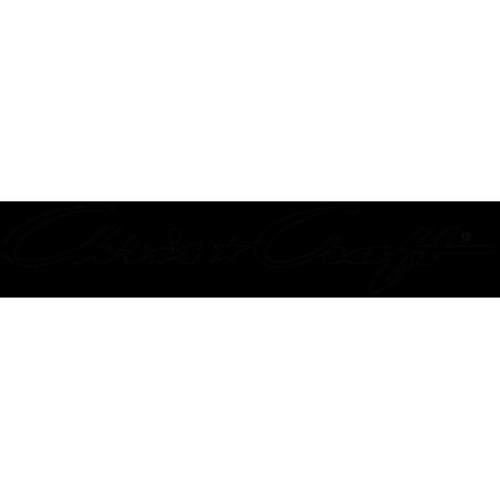 Sticker Logo Chris Craft