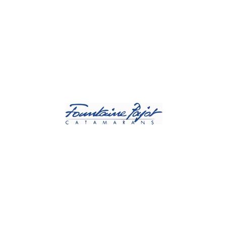 Sticker Logo Fountaine Pajot Bleu