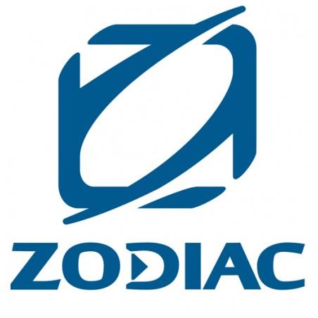 logo zodiac en relief