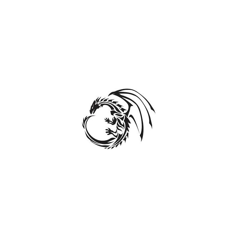 Sticker dragon Adhésif pour Bateau