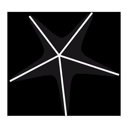 Sticker étoile de mer Adhésif pour Bateau