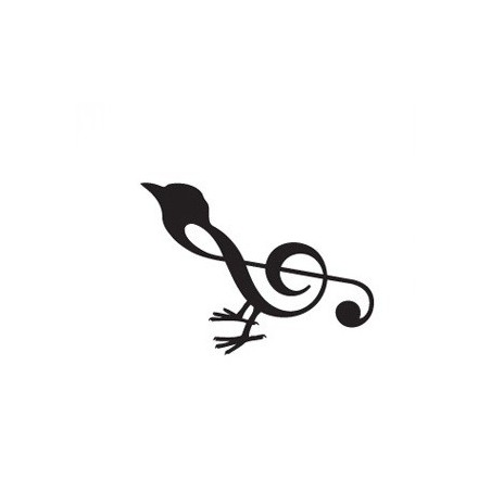 Sticker oiseau clés Adhésif pour Bateau
