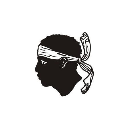Sticker Tête de Maure