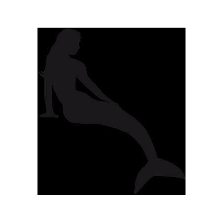Sticker Sirene  adhésif pour bateau