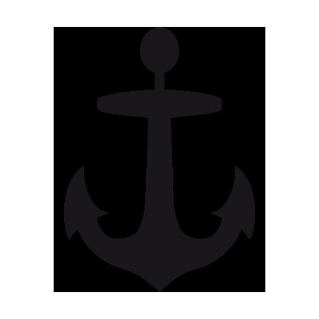 Sticker ancre adhésif pour bateau