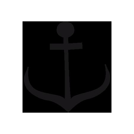 Sticker Ancre 2 adhésif pour bateau