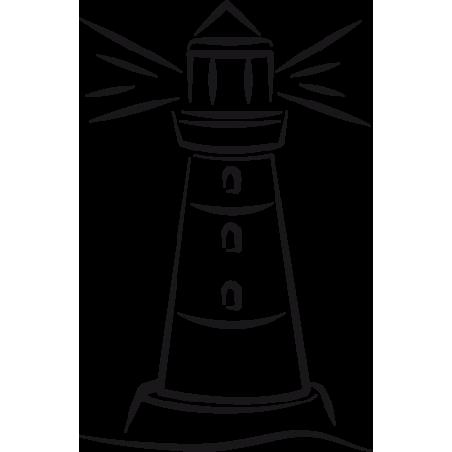 Sticker Phare adhésif pour bateau