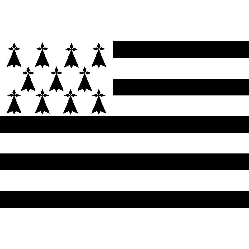 Sticker Drapeau breton