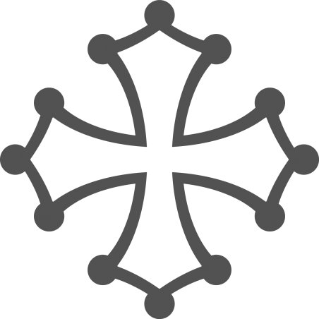 Sticker Croix Occitane