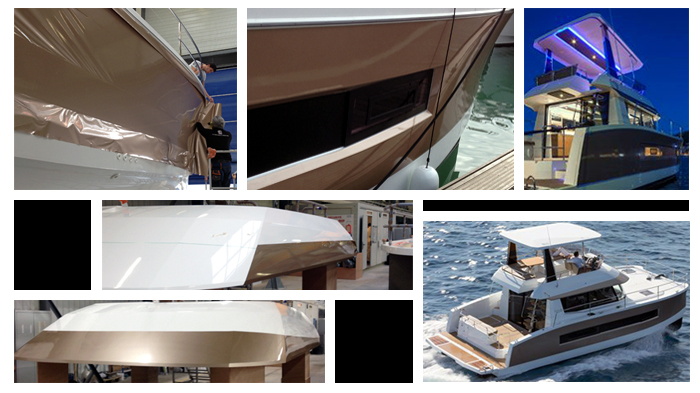 Wrapping pour Fountaine Pajot