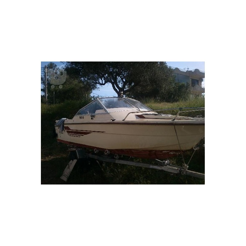 Best Boat 532 Sport pare-brise complet