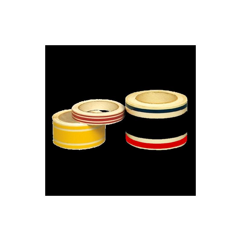 Triple bandes et filets adhésifs décoratifs, 3 couleurs au choix, longueur 12m