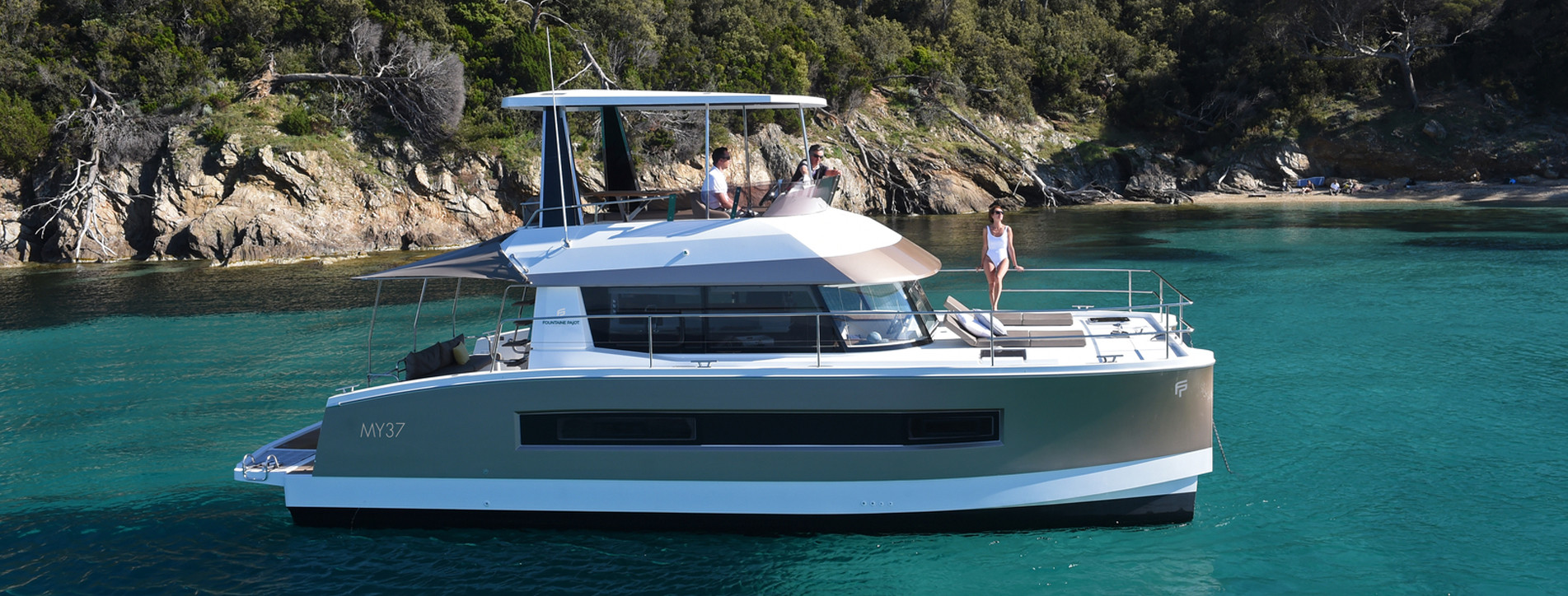 catamaran Fountaine Pajot MY37