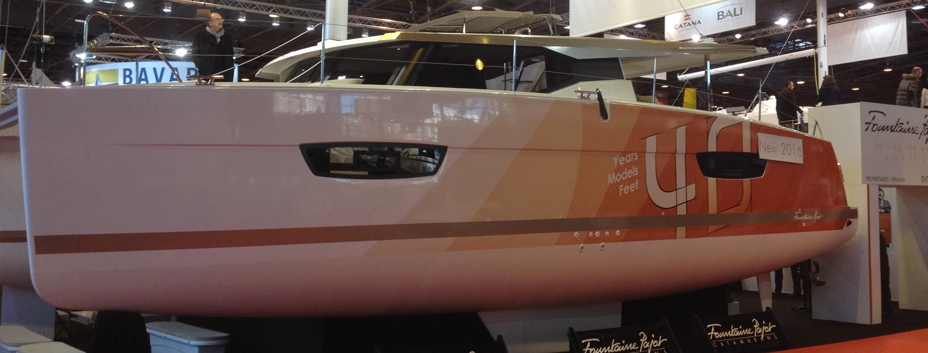 Catamaran Lucia de Fountaine Pajot